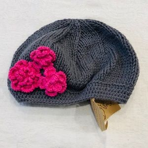 Baby- Toddler knit Beret Hat!! Small!!